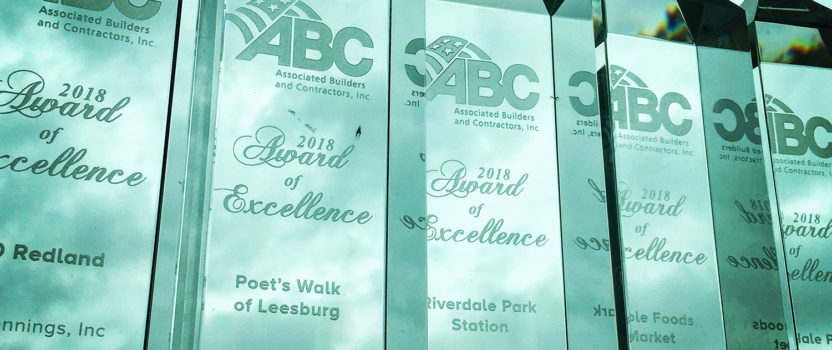 L.F. Jennings Receives 5 Excellence In Construction Awards