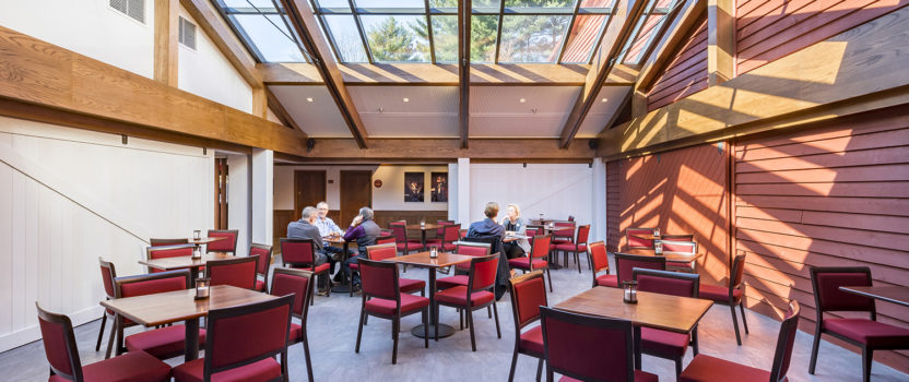 Newly Enclosed Central Courtyard Dramatically Welcomes Patrons to the 2018-2019 The Barns at Wolf Trap Season