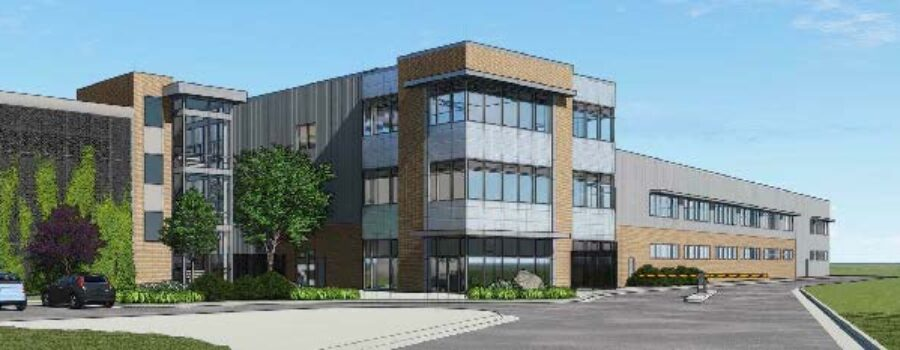 Cove Point Facility Maintenance Building Underway